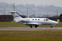 G-NGEL - 510-0076 - Private - Cessna 510 Citation Mustang - Luton - 091214 - Steven Gray - IMG_5148