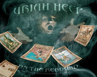URIAH HEEP - On The Rebound – A Very `Eavy 40th Anniversary Collection