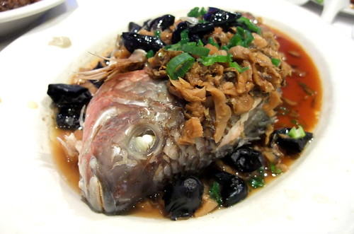 Steam Tilapia with Pickled Olives