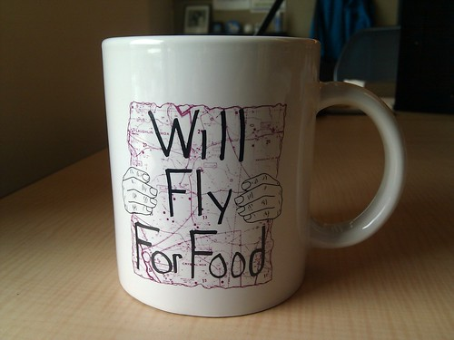 Will Fly For Food: This sums it up nicely