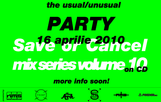 the usual // unusual PARTY – Mix Series CD