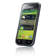 Samsung Galaxy S touchscreen smartphone