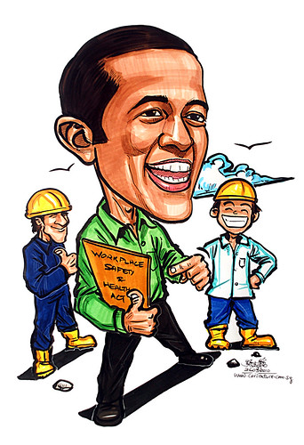 Caricature for Ministry of Manpower - 19
