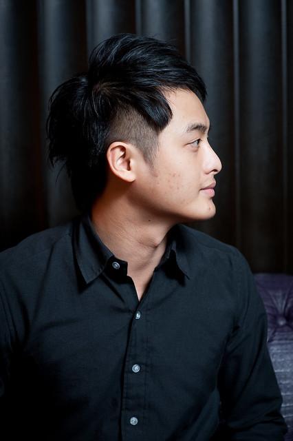 【男生发型】好个有个性的不对称 | flickr – 相片