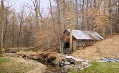 creepy house (Park Doc) Tags: urban house abandoned nature creek found spring nikon maryland tokina pro m35 d90