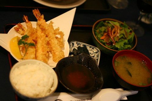 Shrimp Tempura Teishoku