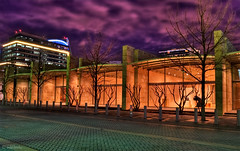 Nasher Sculpture Center - Dallas, TX (todd landry photography) Tags: sculpture museum dallas texas center nasher hdr hdratnight top20texas