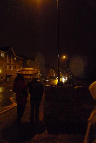 Rainy night in Sheffield