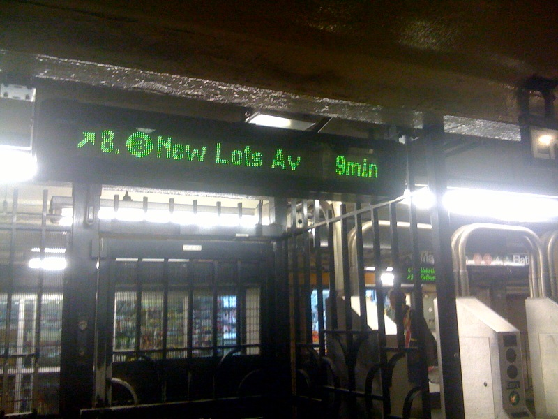 MTA empowers subway schedules