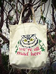 We're all mad here (LANAMENTO) (Marsupial Prints) Tags: alice marsupial cheshirecat inwonderland nopasdasmaravilhas gatorisonho marsupialprints