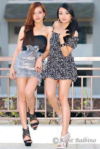 Kat and Chessa