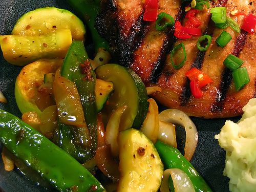 Caveman Cooking: Sauteed Asian Veggies
