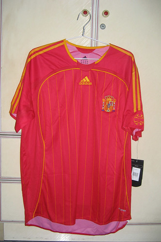 Spain 2006-2007 Home S/S (Player Issued)