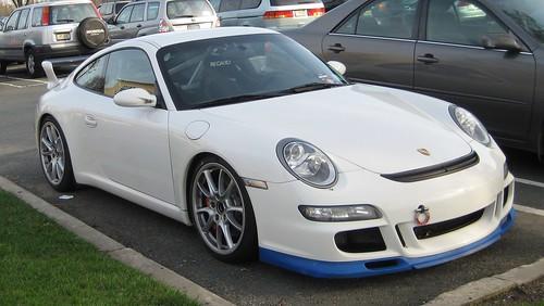 Porsche GT front view