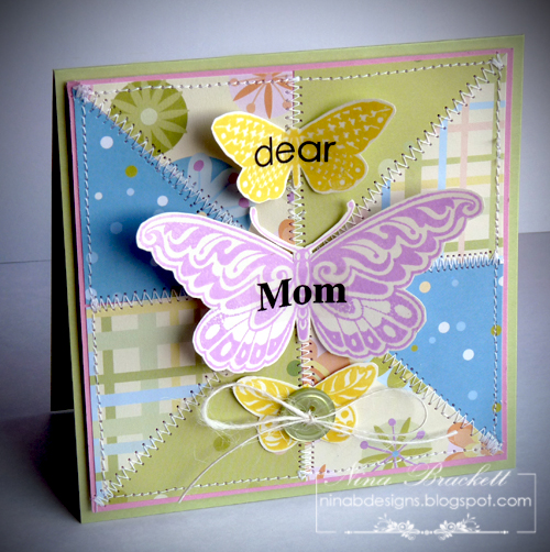 Dear Mom butterflies