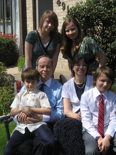4/4/10 - Easter with the grandparents.