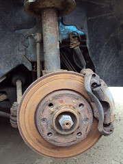 rust 206 brake disc peugeot caliper