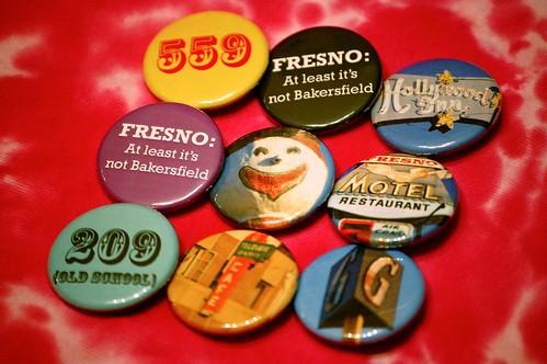 Fresno buttons