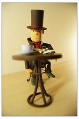Professor Layton & the Difficult Puzzle_01 (autojoy) Tags: luke figurine layton revoltech professorlayton