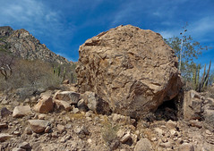 Big Baja Rock (ex_magician) Tags: pictures mexico lumix photo image photos picture panasonic adobe baja loreto seaofcortez bigrock lightroom moik adobelightroom innatloretobay tz5 dmctz5