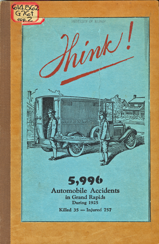 THINK - Grand Rapids automobile guide from 1925