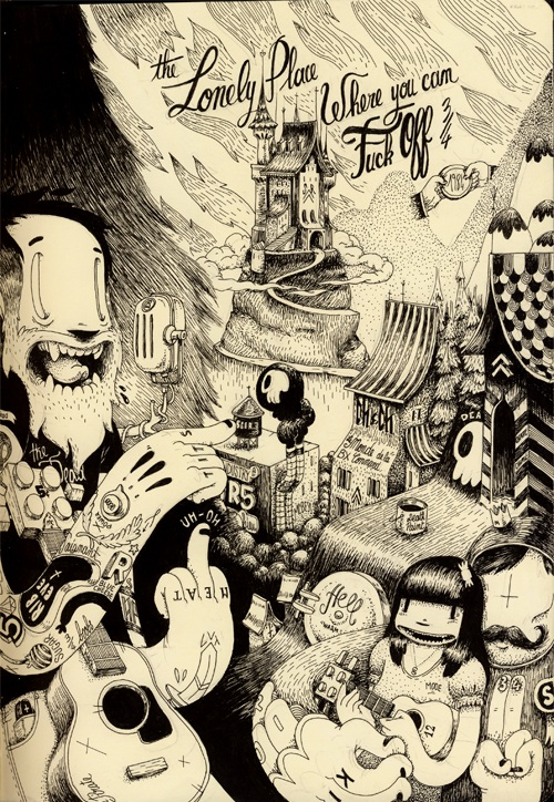 Illustration by Matthieu Bessudo