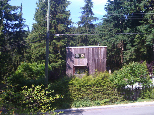 Cedar house, North Vancouver