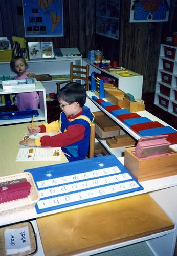 Chitwood Montessori Homeschool Classroom, 1991.