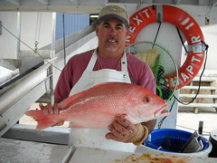 Jack Fernandez with American Red Snapper