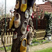 Marken: a tree of wooden shoes