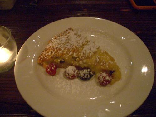 Osteria Mamma Custard Cream Tart