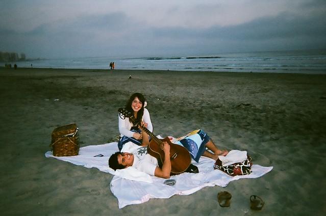 california beach love.