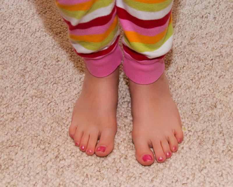 Ellie's Toes