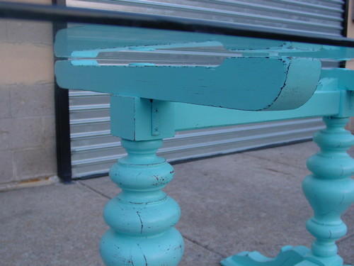 Structural detail-  glass support