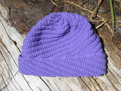 2010_04_18_SpiralRib_purple1 (mmmyarn) Tags: hat knitting aurora8 karabellayarns