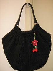 Bolsa de crochê (ateliedamarina) Tags: bag crochet bolsa croche crochê fatbag