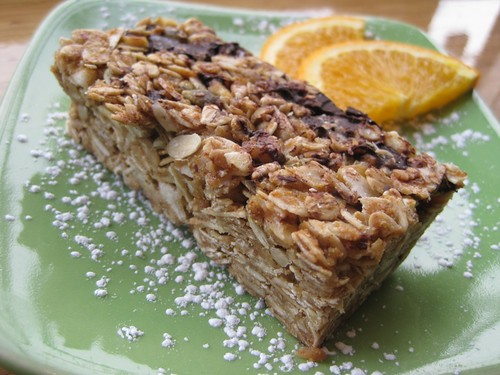 swim cafe granola bar