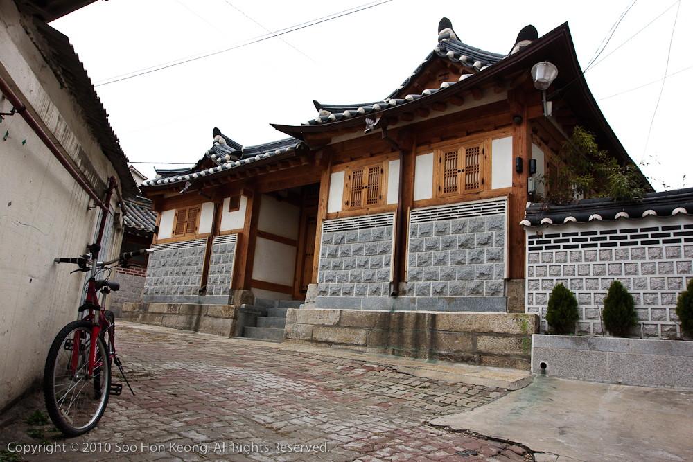 Bukchon Hanok Village @ Seoul, Korea