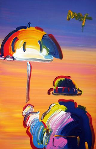 Carnival Spirit - Peter Max, Umbrella Man