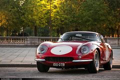 Ferrari 275 GTB/4 (Tex Mex (alexandre-besancon.com)) Tags: auto road street sunset red england paris france castle english car night race forest french cool tour power famous 4 rally fast plate ferrari racing legendary course event concorde british tuileries 100 expensive chateau legend powerful rosso rare supercar fort rallye fontainebleau gtb 275 evenement gtb4 rarest legendaire