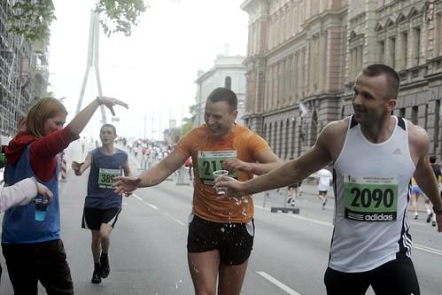 Nordea Riga Marathon 2009: Marathon, Half-marathon, and Relay