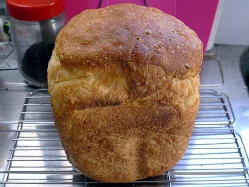 ホームベーカリーで2010年4月25日に作ったパン