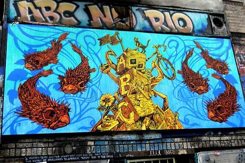 New Mural @ ABC No Rio