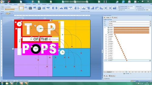 Top Of The Pops -- PowerPoint Animation