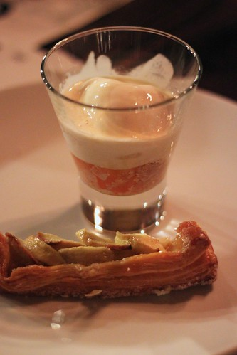 thor's affogato & apple and almond galette