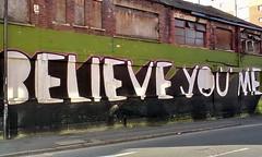 believe you me (Harry Halibut) Tags: road red streetart building brick art public bernard graffiti artwork sheffield images allrightsreserved publicartinsheffield colourbysoftwarelaziness imagesofsheffield 2010andrewpettigrew sheff100328081