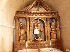 Sta Olaja de Eslonza, altar S. Adrián y Sta Natalia