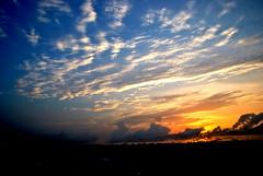HBW (Doddamalluraprameya) Tags: blue sun india colour beach sunrise nikon marinabeach chennai skyclouds 18105 nikond3000
