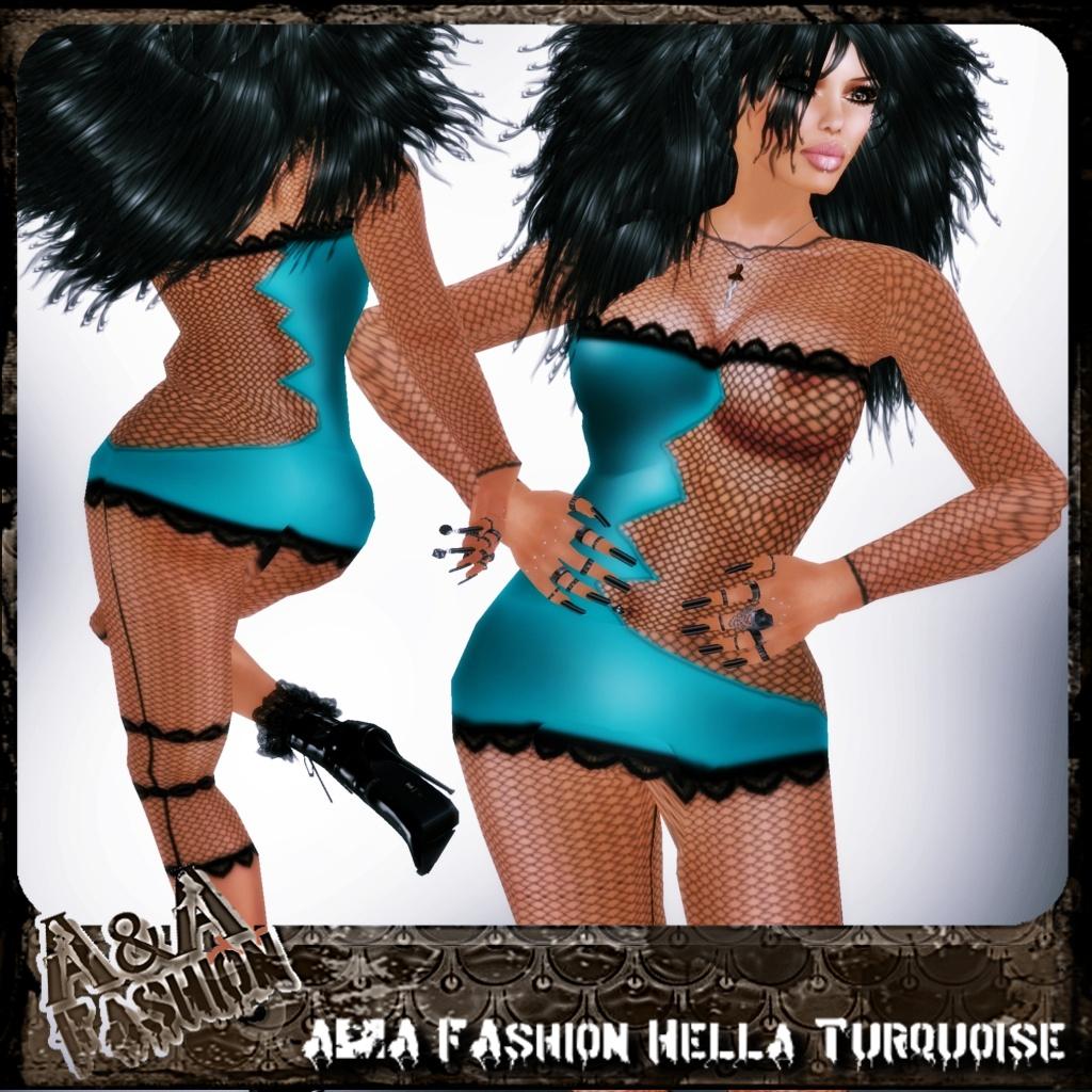 A&A FAshion Hella Turquoise