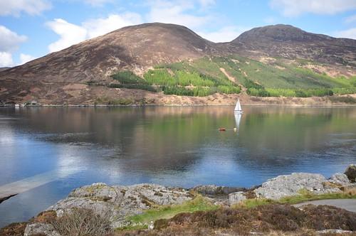 Across the sea (Kyle Rhea) to Skye